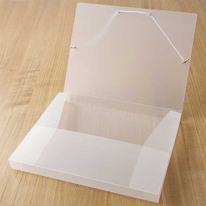 plastic sheet box